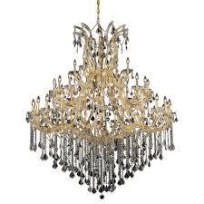regina traditional 49 light up lighting crystal chandelier finish crystal color crystal trim