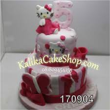 04kue Ultah Hello Kitty 2 Susun Kue Ulang Tahun Bandung