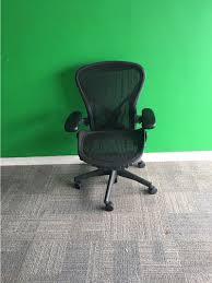 herman office chair. Herman Miller Aeron B Refurbished Office Chair