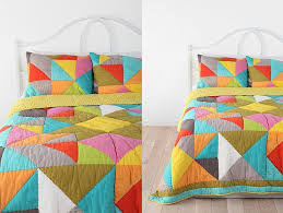 beautiful multi colored duvet covers and pillow shams 3