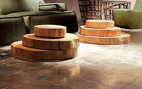 round slab coffee table