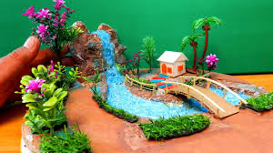 Mini Grotto Design For House Easy Quick Miniature Fairy Garden With Waterfall 14 Diy Crafts Ideas