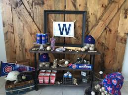 party ideas chicago cubs baseball party