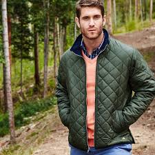 Southern Marsh Marshall Quilted Jacket in Dark Green – Country ... & Men's Outerwear - Marshall Quilted Jacket In Dark Green By Southern Marsh Adamdwight.com