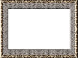 gold frame border png. Frame Photo Design Border Background Outline Gold Png