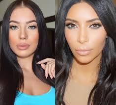 kim kardashian inspired makeup turquoise waterline
