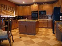 Kitchens With Brick Floors Kitchen Kitchen Tile Flooring Inside Remarkable Kitchens