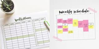 Revision Schedule Template Revision Timetable Revision Timetable Template