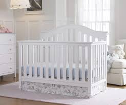 18 baby girl nursery ideas themes designs pictures pure white tones on wood crib and matching baby nursery furniture cool