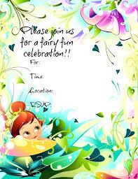 Tinkerbell Invitation Free Editable Tinkerbell Invitation Templates Templates