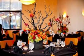 Romantic halloween wedding centerpieces ideas (10)