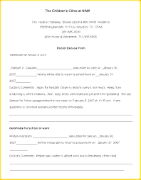 Free Download Doctors Notes Template Fake Doctors Excuse