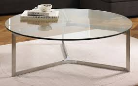 ikea glass top coffee table round
