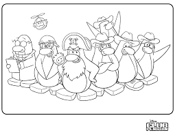 Small Picture Club Penguin Coloring Pages 30689 Bestofcoloringcom