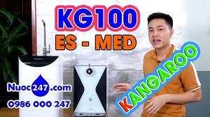 Máy lọc nước Kangaroo Ion Kiềm #KG100ES #KG100MED giá rẻ Công nghệ điện  phân nước RO độc quyền✅ - YouTube