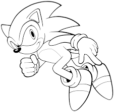 Adult Sonic Coloring Pages Sonic Coloring Pages To Print Free Sonic