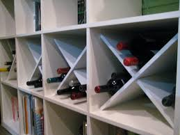 Ikea EXPEDIT wine storage hack #diy - in kitchen book where E's kitchen is.