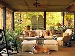 furniture for screened in porch. screen porch decorating ideas delightful outside living room myhomeideas furniture for screened in