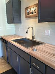 wood countertops natural beauty are finding their way back to the kitchen decors