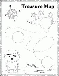 Small Picture 13 Pics Of Christian Treasure Map Coloring Page Pirate Treasure