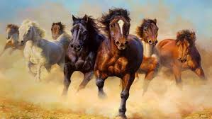 wild horses galloping. Fine Wild Animals Wild Horses Galloping Hd Wallpaper 38402400 With
