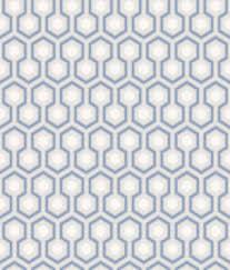 Hicks Hexagon Wit Blauw 668054 De Mooiste Muren