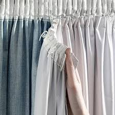 white colors thermal blackout lining curtains for the bedroom living room window curtains blinds