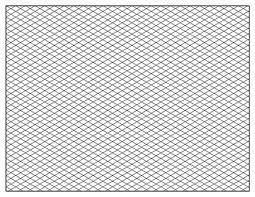 Isometric Paper Free Printable Isometric Grid Paper