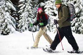 winter outdoor activities. Simple Winter How I Hope To Get Outside This Winter Snowshoeing With My Husband Intended Winter Outdoor Activities O