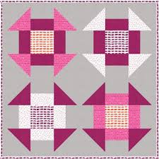 Quilt Inspiration: Free pattern day! Shoo Fly and Churn Dash quilts & Churn Dash baby quilt, inspired by