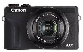 Цифровой <b>фотоаппарат Canon PowerShot</b> G7 X Mark III черный ...