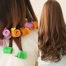 Magic Leverage Spiral Hair Curler Curl อปกรณทำลอนผม ทมวนผม ผมลอน ทรงผมยาว ทรงผมสนประบา 1 Set 18 ชน สเขยว ส