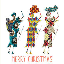 Christmas Cards Pack Of 5 Cards Design By Malaika Hardy Fraser