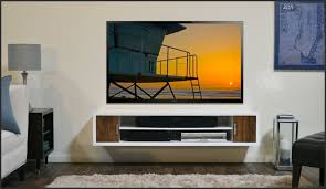 painting shelves ideasDecorating Tv Wall Mount And Shelf Ideas With White Color Paint On