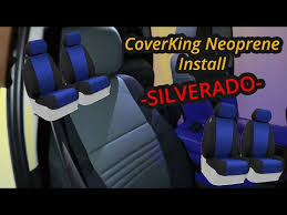 coverking seat covers install