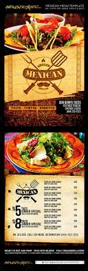 mexican restaurant menu template com your menu template preview