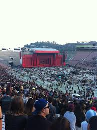 Rose Bowl Concert Seating Chart Rolling Stones Rose Bowl Stadium Section 8 Concert Seating Rateyourseats Com