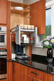 Pull Up Kitchen Cabinets Whats Trending In Kitchen Bath Cabinets And Accessories View
