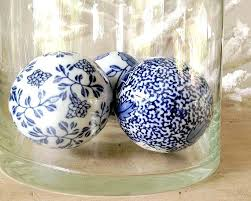 Decorative Balls For Bowls Unique Blue Decorative Balls Blue Decorative Balls For Bowls Bright Colored