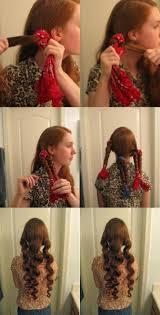 10 Diy No Heat Curls Tutorials Hair Style Hair Makeup And