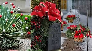 garden decoration. 17 Fabulous Christmas Garden Decoration Ideas For A Festive Front Yard