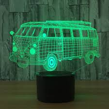 cool indoor lighting. Cool Bus Bluetooth Speaker Cartoon Car Led 3D Nightlights Colorful Music Lamp Usb Indoor Lights For Kid\u0027s Christmas Gift-in LED Night From Lighting
