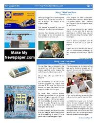 Three Column Newsletter Template All Purpose Inside Page Template With 3 Columns And Advertisements
