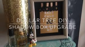 dollar tree diy shadow box upgrade 2017