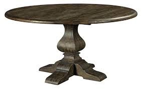 artisans pe 60 black forest round dining table with 60 inch round solid wood dining table