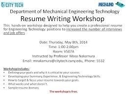 Writing Resume Workshop I Finished 05 08 2014 Resume Writing Class