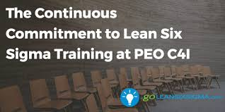 Peo C4i Org Chart 2018 The Continuous Commitment To Lean Six Sigma Training At Peo