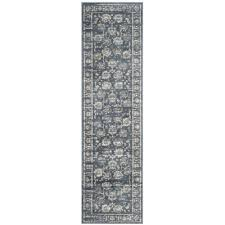 safavieh vintage 5 1 x 7 7 power loomed rug in dark gray and cream only