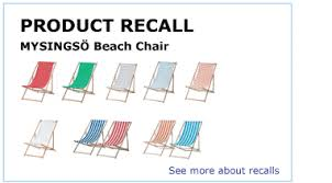 IKEA product recall information