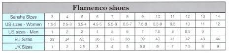Sansha Murcia Adult Leather Flamenco Shoe Shafl5l 42 49